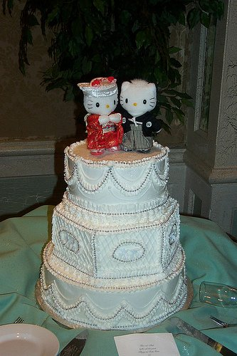 hello-kitty-torta de boda